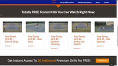 Tennis Drills Main Intro