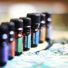 Doterra Essential Oils, Aroma Touch Kit