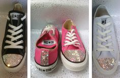 glittery trainers