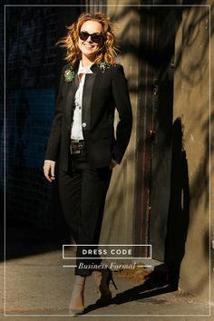 """What to wear when the dress code is """"Business Formal"""""""