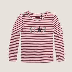 Tee-shirt fille IKKS (XC10122) | Vêtement Fille Hiver 13