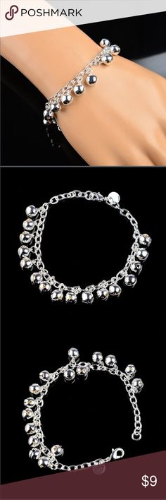 Sterling Silver Jingle Bells Bracelet You don't need to jingle just for Christmas! Beautiful Bracelet for such a great price! Don't forget to Bundle & save for your other likes! Jewelry Bracelets
