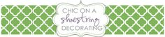 Chic on a Shoestring Decorating: Flaunt it Friday 75 and a Giveaway!