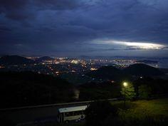 丸亀の夜景