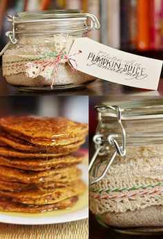 Gluten-Free Pumpkin Spice Pancake Mix