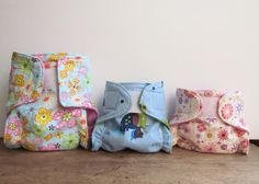 Love cloth diapers! Love them even more when someone has made them!