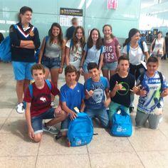 Primera foto de #Sherborne  BUEN VIAJE #Barcelona  #WeLoveBS  #inglés #idiomas #cursos #viaje #travel #y aeropuerto #padres #jóvenes #adolescentesen el aeropuerto de #Barcelona BUEN VIAJE! #WeLoveBS #inglés #idiomas #cursos #viaje #travel #Aeropuerto #jóvenes #adolescentes
