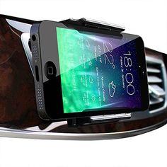 Koomus Aero Air Vent Universal Smartphone Car Mount Holder for iPhone 6 6+ 5 5S 5C Samsung Galaxy S5 S4 S3 Note 4 3 - Retail Packaging - Black Koomus http://www.amazon.com/dp/B00N4F8DHA/ref=cm_sw_r_pi_dp_EcIgvb16RQ448
