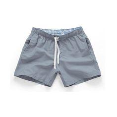 d71dcc906 HAZ CLICK EN LA IMAGEN - Natación troncos hombres playa 2019 sólido secado  rápido Pantalones cortos gay boxeador más tamaño bañadores hombres de playa  14 ...