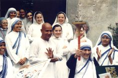 Mother Teresa meets with Sri Chinmoy, Rome 1994