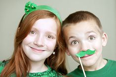 Saint Patricks Day Hairbow