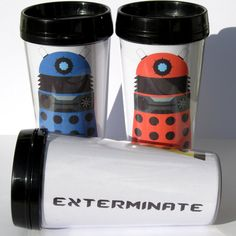 Dalek Thermal Mug by F-A on deviantART