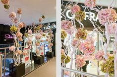 House Of Fraser Spring 2014 - Sarah Feather Design - window & retail displays