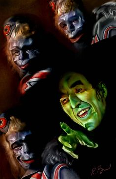 Wicked witch of the west and her flying monkeys Wizard Of Oz Movie, Wizard Of Oz 1939, Wizard Wizard, Wizard Of Oz Witch, Wolf, Land Of Oz, The Good Witch, Famous Monsters, Yellow Brick Road