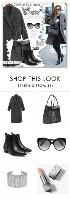 """Street Style by Yoins"" by jecakns ❤ liked on Polyvore featuring Alexander McQueen and Burberry"