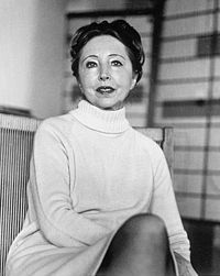 """How wrong is it for a woman to expect the man to build the world she wants, rather than to create it herself?""   ― Anaïs Nin (photo from the 70s.)"