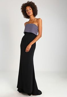 at Strapless Dress Formal, Formal Dresses, Black Silver, Fashion, Ball Gown, Dresses For Formal, Moda, Formal Gowns, Fashion Styles