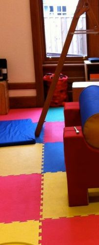 Full on site gym room for our perceptual motor, music and dance programmes. All developmentally specialised for the age of your child.