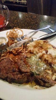 [I ate] Medium rare blackened prime rib covered in garlic butter. Other stuff too. http://ift.tt/2jrwN2U #TimBeta