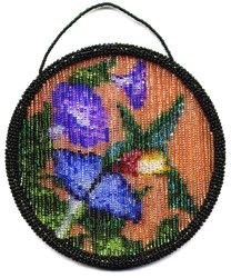 Starting at:  Add to Cart:        Hummingbird SunCatcher Ring Pattern and Kit!   Make your own Beaded Hummingbird SunCatcher! The Pattern is a 4 page, full color, step-by-step instruction booklet. This Beaded SunCatcher Ring when completed is 5 inches in diameter.    Not sure which to buy! Learn More glass beads: http://www.ecrafty.com/c-2-glass-beads.aspx