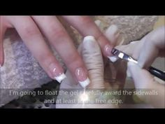 Gel nail tutorial step by step