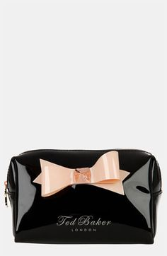 Ted Baker London 'Small Bow' Cosmetic Case | Nordstrom