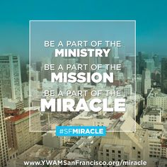 No gift is too small or too big in this effort. We often look to the big givers which we need but it is the many small gifts that make a big difference in the end. Can you give $ 10, 25, 50 or 100 today?  http://www.ywamsanfrancisco.org/miracle  #SFMIRACLE