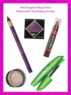 The Best Drugstore Products For Fall, From Hollywood's Top Makeup Artists  #refinery29  http://www.refinery29.com/hollywood-makeup-artist-fall-drugstore-picks