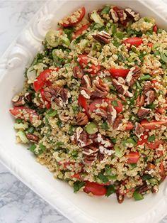 Rezept: Bulgur-Salat mit frischen Kräutern und Zitrone von Elle Republic