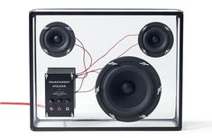 The Transparent Speaker - Stockholm's People People design studio present a wireless, modular home sound system