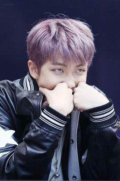 Rap Monster❤ BTS Myeongdong Fansign (170224 grape Joon never leave us please) #BTS #방탄소년단