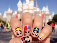 These 14 Incredible Cartoon-Themed Nail Art Photos Will Make You Want A Manicure