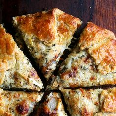 Fontina, Pear and Caramelized Onion Galette