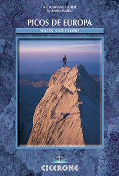 The guidebook has walks and climbs in the Picos de Europa, a limestone range to the north of the central section of the Cordillera Cantabrica, on the northern Atlantic shore of Spain, Europe. Routes divided into two main groups: valley-based and mountain, of all grades. With background information such as geology, flora, fauna and history.