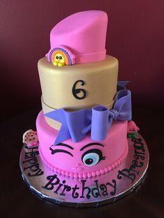 Shopkins Lipstick Birthday Cake