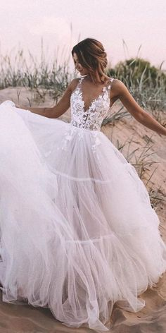 Ball Gown Tulle Wedding Dress Lace Appliques Bridal Gowns - - If you want cust. - Ball Gown Tulle Wedding Dress Lace Appliques Bridal Gowns – – If you want custom made color a - Simple Sexy Wedding Dresses, Dream Wedding Dresses, Elegant Dresses, Formal Dresses, Pretty Dresses, Casual Dresses, Awesome Dresses, Ball Gown Wedding Dresses, Modest Wedding