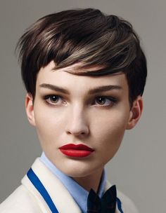 The best collection of Lovely Very Short Haircuts for Women, latest and best short hairstyles, short hair trends 2018 - 2019 Modern Short Hairstyles, Very Short Haircuts, Retro Hairstyles, Pixie Hairstyles, Short Hair For Boys, Super Short Hair, Short Hair Cuts For Women, Layered Pixie Cut, Pixie Cuts
