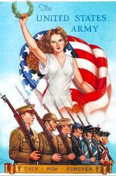 Army Day, Us Army, Military Art, Military History, Military Recruiting, Military Ranks, Military Service, Gi Joe, American War