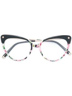 7bb4d339a9e Dolce   Gabbana Eyewear cat-eye Floral Glasses - Farfetch