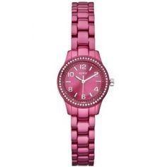 Reloj Guess señora aluminio en varios colores  Recordad que además de en nuestras tiendas físicas también podéis encontrarlo en nuestra Tienda online