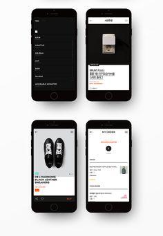 Brand eXperience Design Renewal on Behance Web Design, Mall Design, App Ui Design, Timeline App, Timeline Design, Ux User Experience, App Design Inspiration, Simple App, Mobile Ui Design