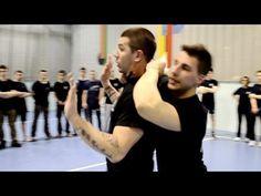 KRAV MAGA TRAINING • Hostage! Knife from rear disarming - YouTube