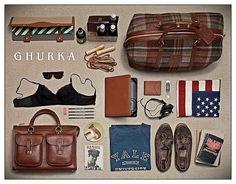 Ghurka. Bags. New York.