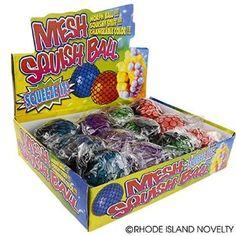 Mesh Squishy Ball (Pack of 12)