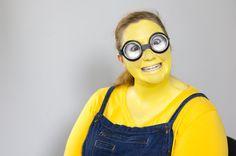 Für Karneval: Minion schminken leicht gemacht!