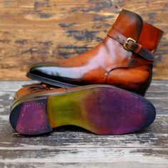 http://chicerman.com  dandyshoecare:  I Masnadieri  New Patina by Dandy Shoe Care  Pezzo Unico for Mr.V.K.  I dedicate this Patina to the 200th anniversary of the great Italian composer Giuseppe Verdi.  #menshoes