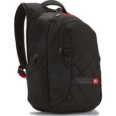 "Case Logic 16"" Laptop Backpack Black  #bag #fashion #L09582 #highschool #shoulderbags #handbags #backpack #WomenWallets #YLEY #Happy4Sales #bagshop #kids"