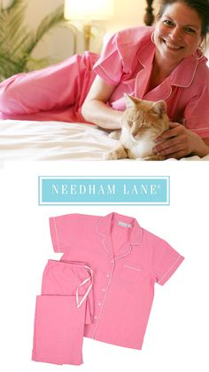 97d972e6466 Our Primrose short sleeve with capri pants pajamas are made from 100% soft  cotton.
