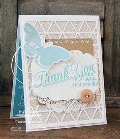 Grand Greetings; Blissful Butterflies; Heirloom Label Die-namics; Triangle Screen Die-namics; Mini Album Torn Notebook Paper STAX Die-namics - Inge Groot