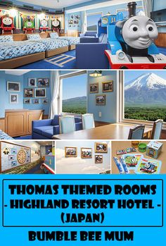 Thomas Themed Hotel Rooms @ Highland Resort Hotel (Japan) - Bumble Bee Mum